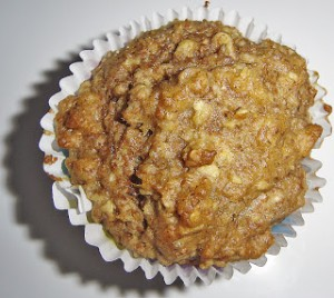 Applesauce & Oat Muffins