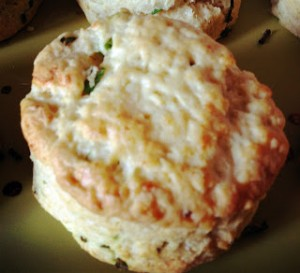 Cheddar and Chive Scones & Another step in the right direction…