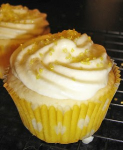 Doubly Lemon Cupcakes