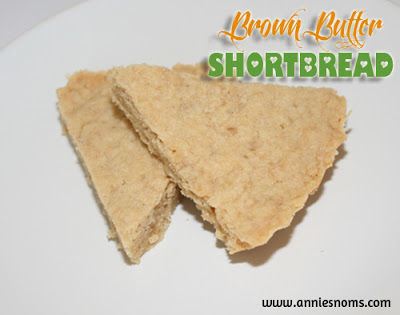 Daring Bakers Challenge: November – Brown Butter Shortbread