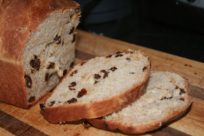 Raisin Cinnamon Loaf
