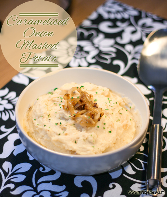 Caramelised Onion Mashed Potato