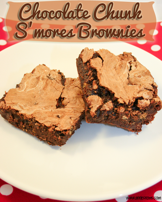Chocolate Chunk S'mores Brownies