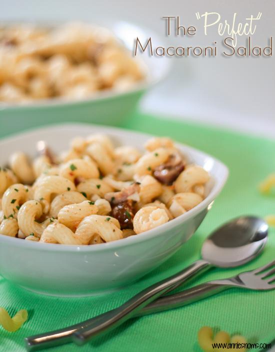 Secret Recipe Club – The Perfect Macaroni Salad