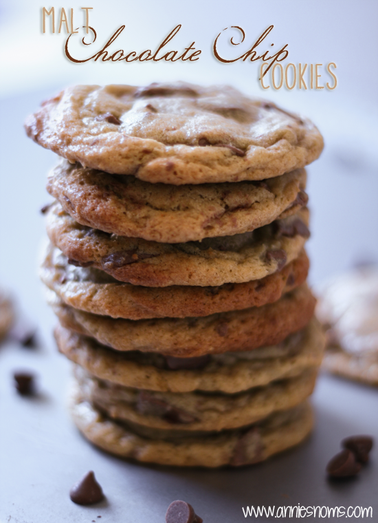 Malt Chocolate Chip Cookies
