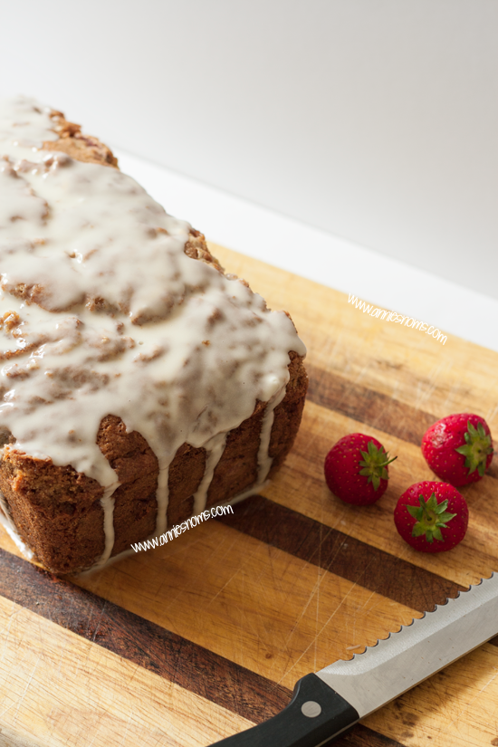 Strawberry and Vanilla Pound Cake