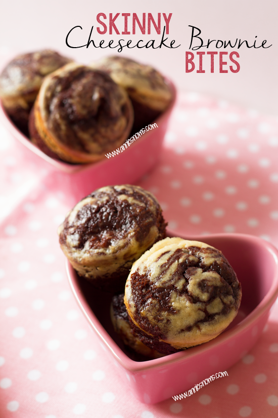 Secret Recipe Club – Skinny Cheesecake Brownie Bites