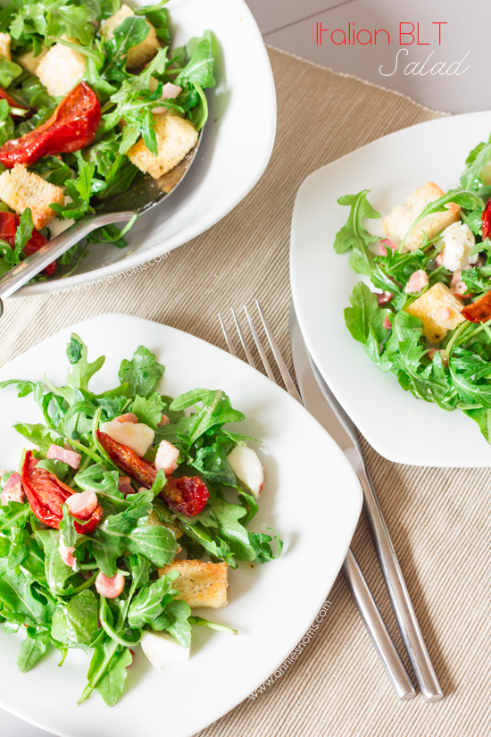 Secret Recipe Club – Italian BLT Salad