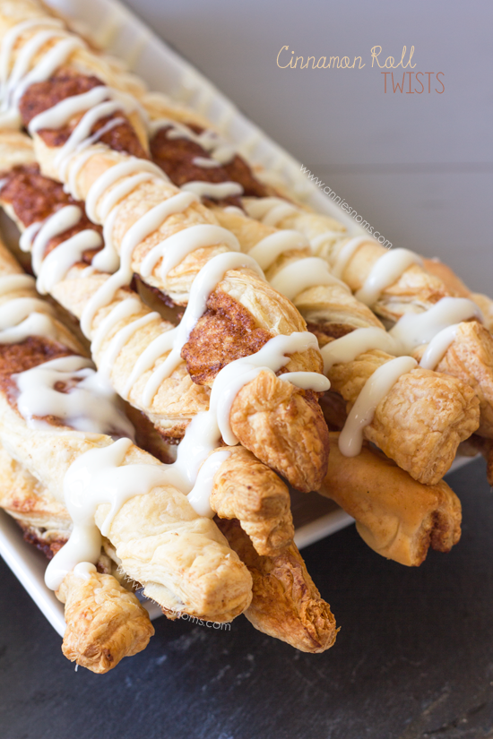 Cinnamon Roll Twists | Annie's Noms
