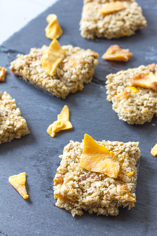 Mango and Pineapple Granola Bars | Annie's Noms