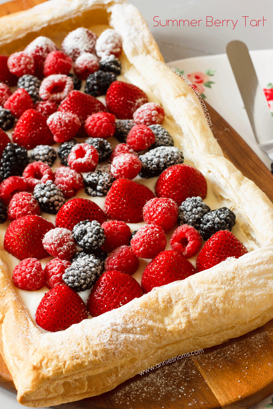 Summer Berry Tart | Annie's Noms