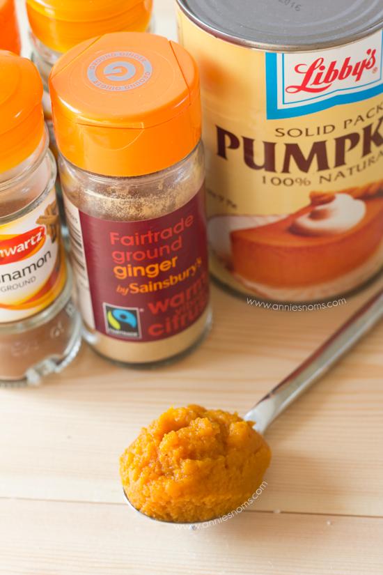 Pumpkin White Chocolate Chip Blondies | Annie's Noms