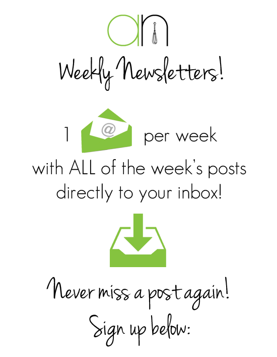 Weekly Newsletters   Annie's Noms