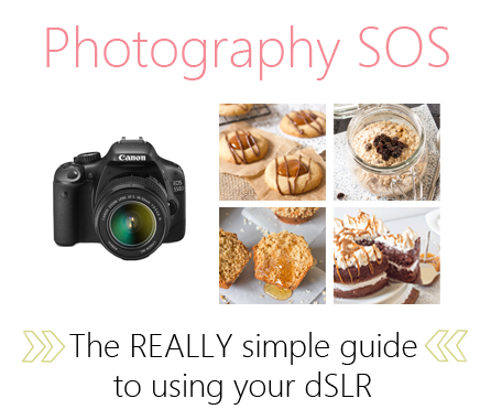 Photography SOS - Getting to know your camera | Annie's Noms