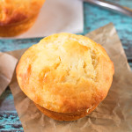 Soft, lemon muffins made with yoghurt and filled with gorgeous pockets of oozing lemon curd in the centre.