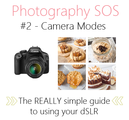 Photography SOS - Camera Modes | Annie's Noms