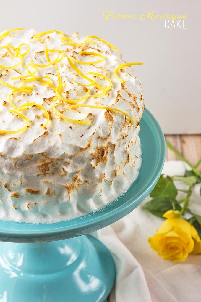Lemon Meringue Cake Annie S Noms
