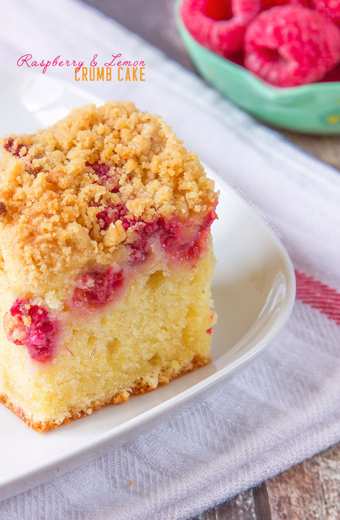 Raspberry and Lemon Crumb Cake | Annie's Noms