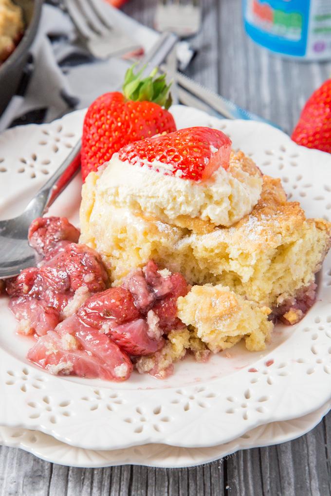 Strawberry Shortcake Cobbler Annie S Noms