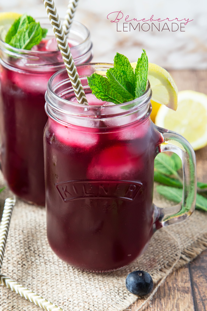 Drinks Can Be Made With Blueberry