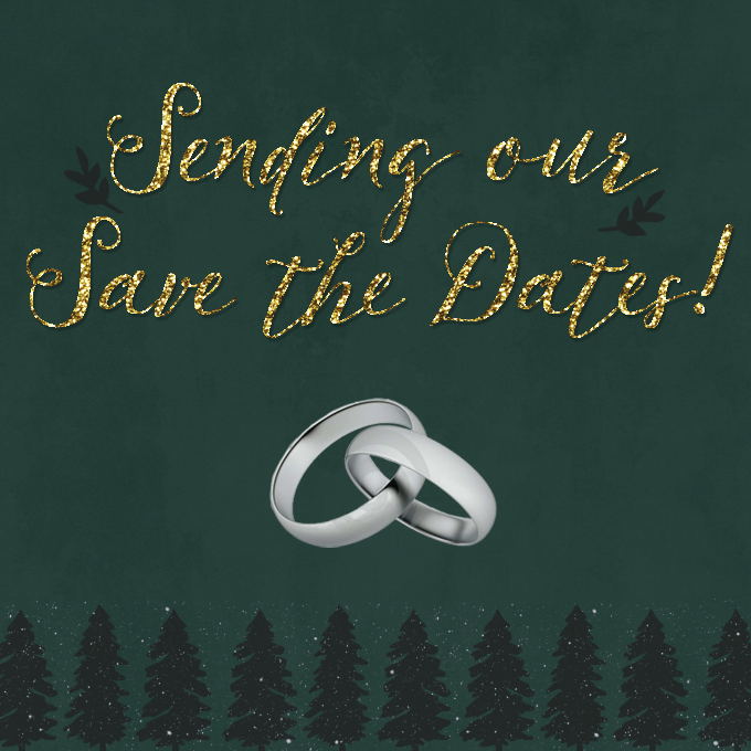Sending out our Save the Dates! | Annie's Noms