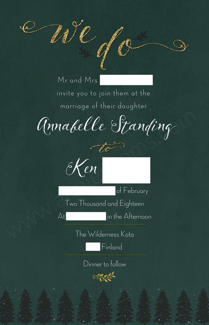 Wedding Update and Invite Reveal | Annie's Noms