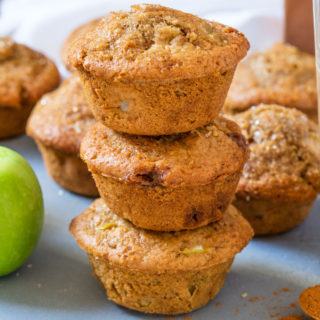 Apple Pie Muffins {Quick Make Ahead Breakfast!}