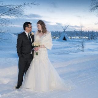 We got married!