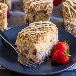 Strawberry and Lemon Coffee Cake