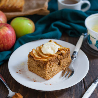 Apple and Cinnamon Clotted Cream Cake