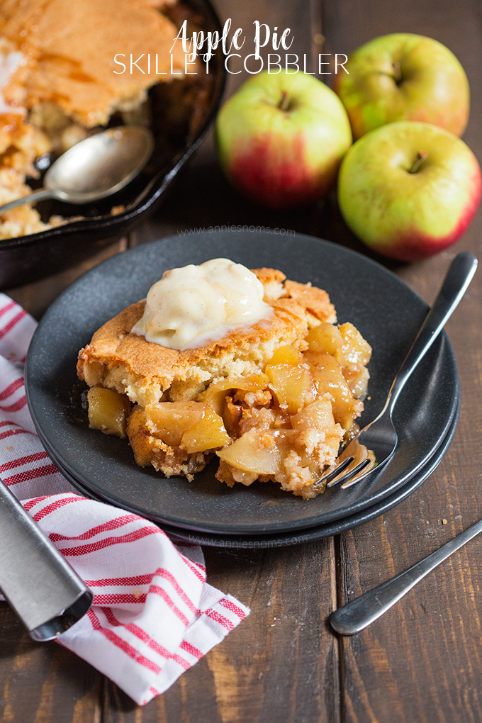 This Le Pie Skillet Cobbler Is A Hybrid Of Two Fantastic Desserts An