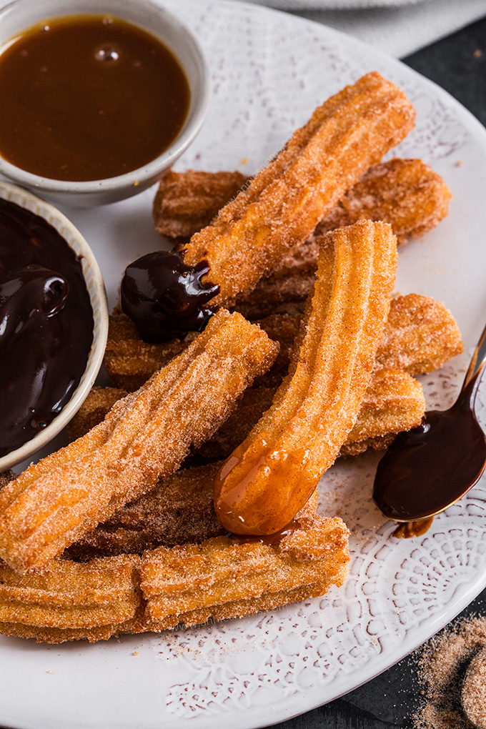 Easy Homemade Churros Annie S Noms