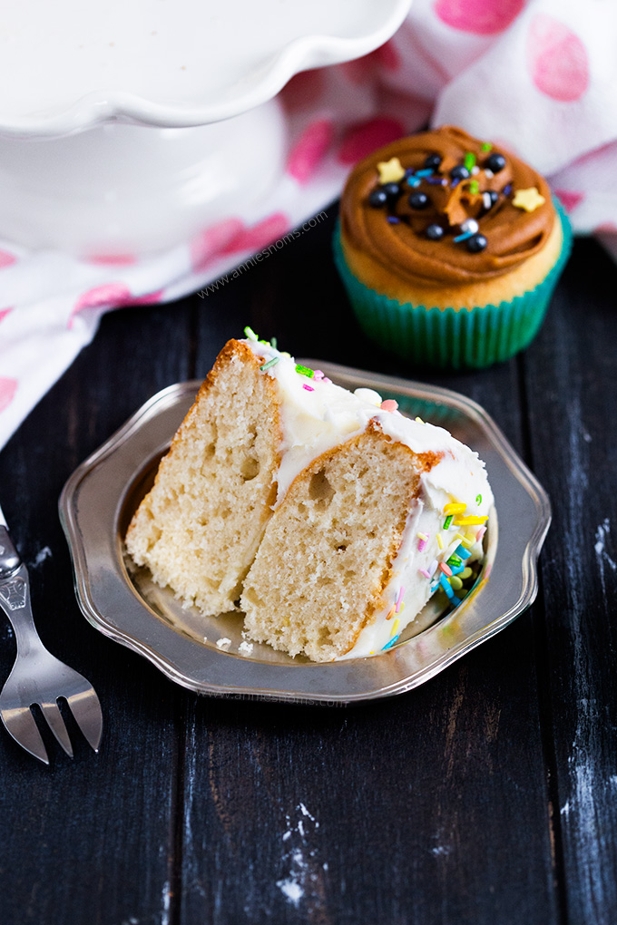 This Homemade Cake Mix has no artificial ingredients and is the perfect mix to have to hand - make it into layer cakes or cupcakes with just a few extra ingredients!