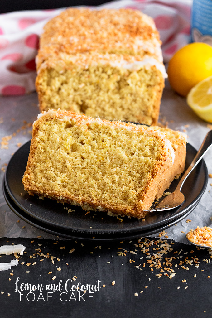This light and zesty Lemon and Coconut Loaf Cake is made with coconut milk and has desiccated coconut in the batter to add a tropical twist to a lemon loaf!