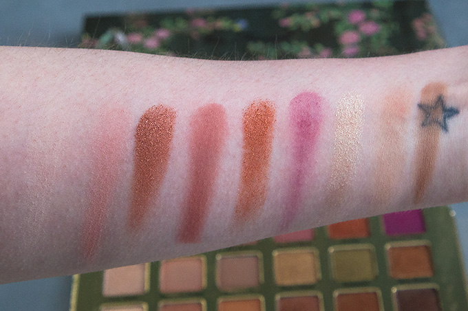 Too Faced Natural Lust Palette; Swatches and First Impressions | Annie's Noms