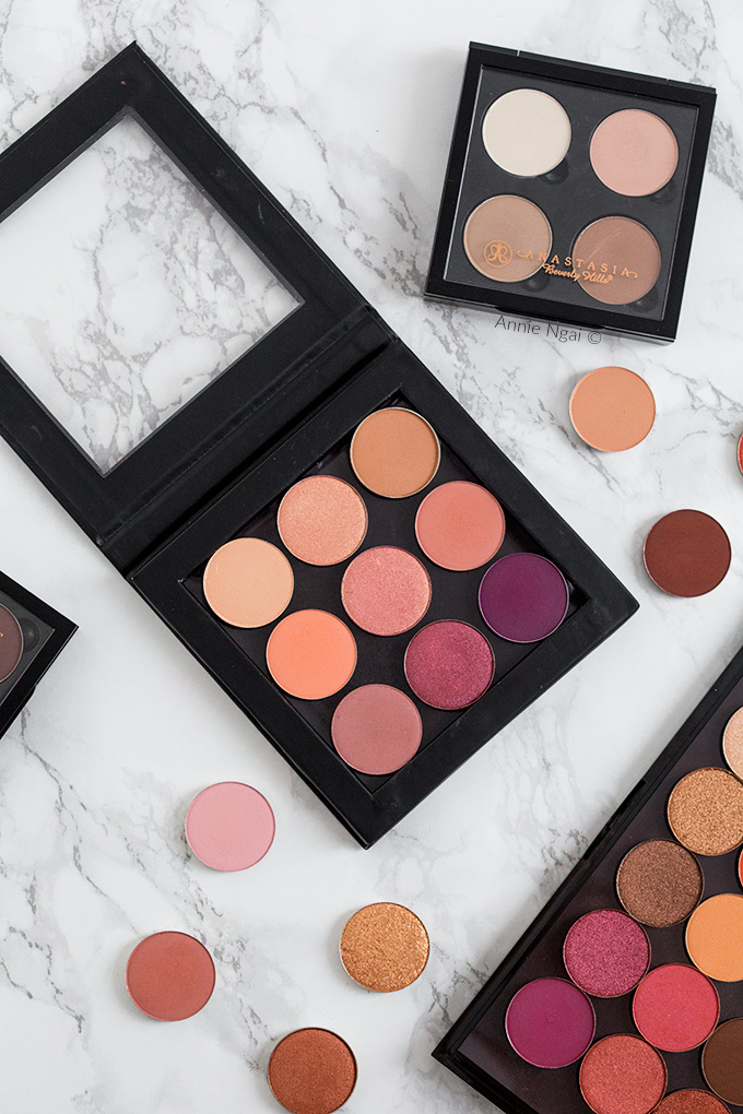 Create your own eyeshadow palettes   Annie's Noms