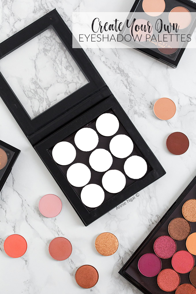 Create Your Own Eyeshadow Palettes