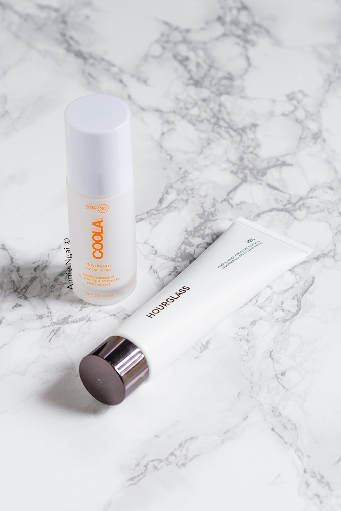 Hourglass Veil Mineral Primer VS Coola Daydream Mineral Primer - Which is best? | Annie's Noms