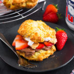 These Shortcakes marry together strawberry shortcakes and s'mores to create one super delicious, decadent dessert that everyone will love!