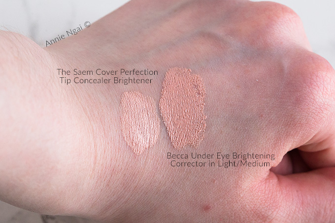 The Saem Cover Perfection Tip Concealer Brightener Review | Annie's Noms