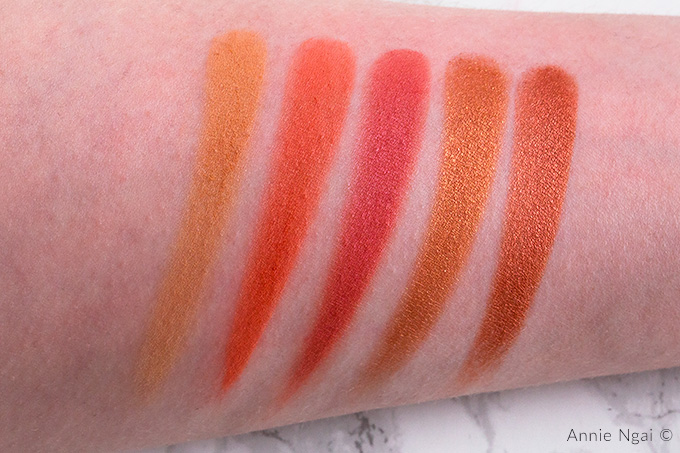 Revolution Pro Eyeshadow Refill Pack Swatches | Annie's Noms