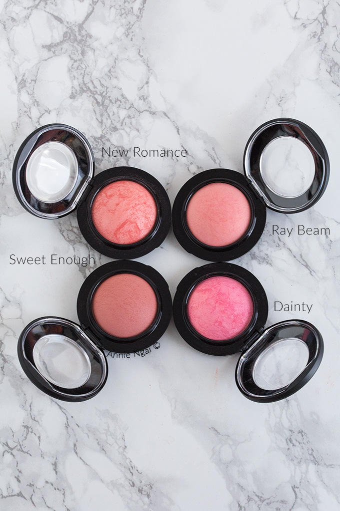 Top 5 High End Blushes | Annie's Noms