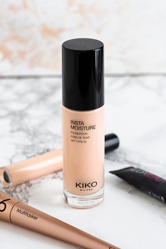 Kiko Instamoisture Foundation Review and Wear Test | Annie's Noms