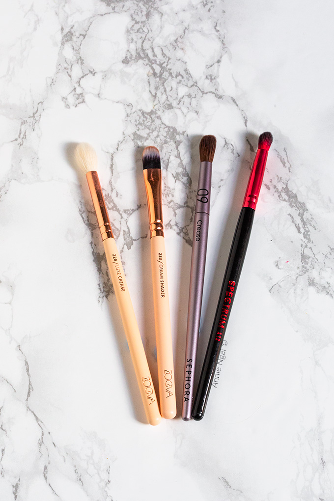 My Holy Grail Makeup Brushes | Annie's Noms