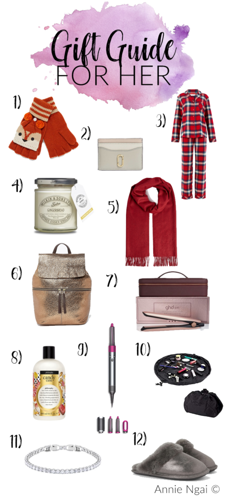 Gift Guide For Her   Annie's Noms