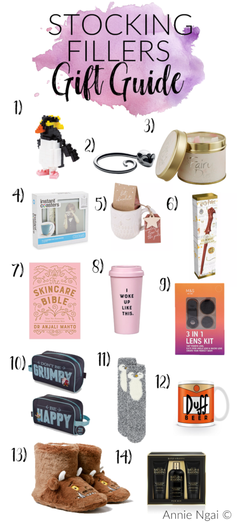 Gift Guide - Stocking Fillers | Annie's Noms