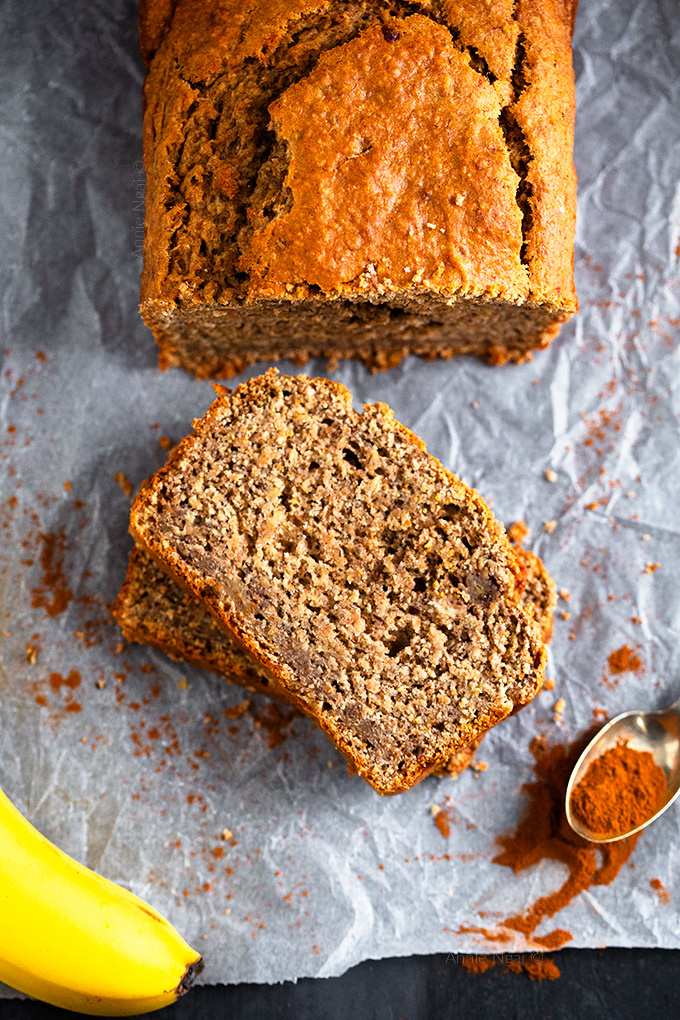 This Healthier Banana Bread is a guilt free way to use up those ripe bananas! Easy to make and just as tasty as the normal version, this will become a new favourite!