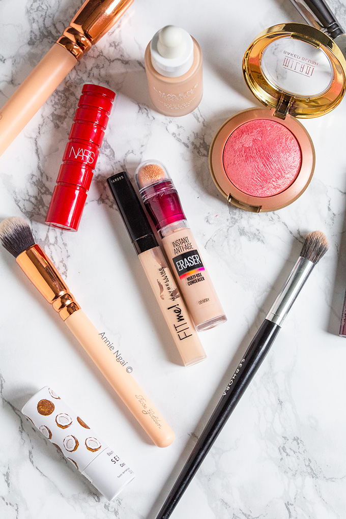 Best Products for Quick 5 minute Makeup   Annie's Noms