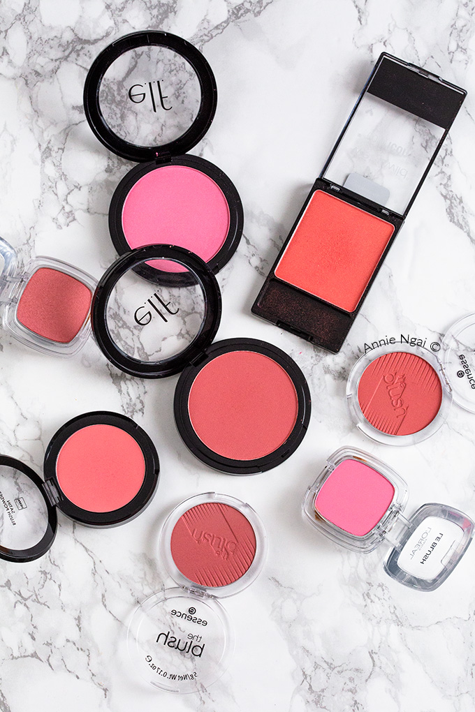 The 5 Best Drugstore Blushes | Annie's Noms