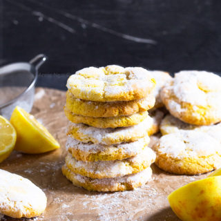These soft and chewy Lemon Crinkle Cookies are easy to make, packed with flavour and the perfect way to satisfy your sweet tooth!